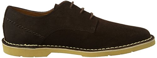 Kickers Kanning Lace, Derby Homme Marron