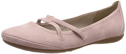 Tamaris Damen 1-1-22110-22 521 Geschlossene Ballerinas Pink (Rose 521), 39 EU