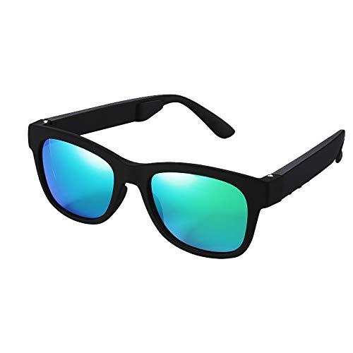 Drahtlose Bluetooth-Sonnenbrille Stereokopfhörer mit Musik-Player Musikkopfhörer für Smartphones und alle Geräte mit Bluetooth,3