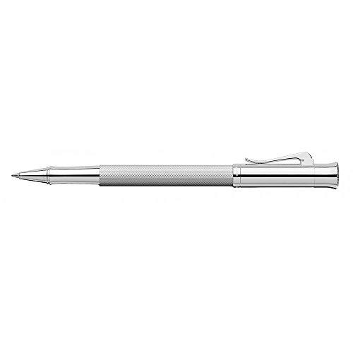 Graf von Faber-Castell Tintenroller Guilloche Rhodiniert