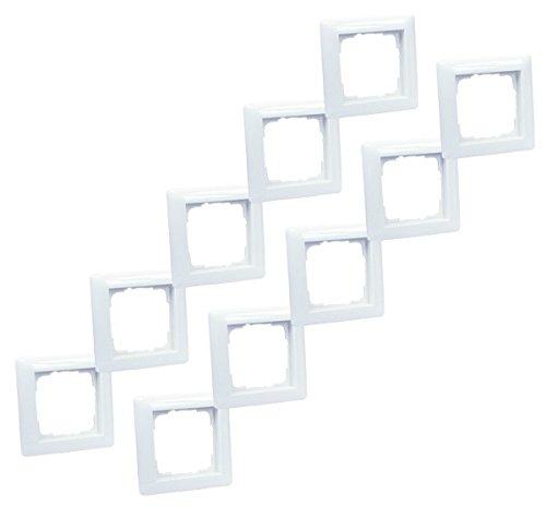 Preisvergleich Produktbild Gira 021103 1-fach Rahmen - 10 Stück