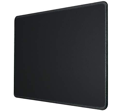 Silent Monsters Mauspad Größe S (25 x 20 cm) Mousepad Design: schwarz mit vernähtem Rand geeignet für Office und Gaming Maus