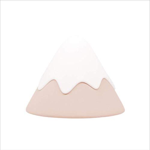 Nachtlicht Schnee Berg Licht Kreative Energieeinsparung Atmosphäre Lampe Schwangere Frau Fütterung Lampe Silikon Nachttischlampe 140X140X107Mm Rosa -