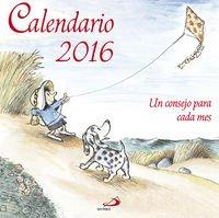 Calendario Un consejo para cada mes 2016 por VV.AA.