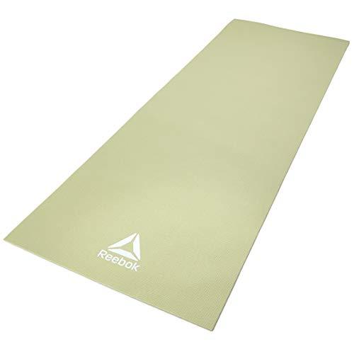 Reebok Estera de Yoga - Verde, 4 mm