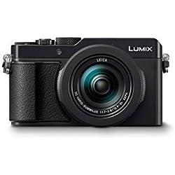 """Panasonic DC-LX100 II Appareil-Photo Compact 17 MP 4/3"""" MOS 4736 x 3552 Pixels Noir - Appareils Photos numériques (17 MP, 4736 x 3552 Pixels, MOS, 3,1x, 4K Ultra HD, Noir)"""
