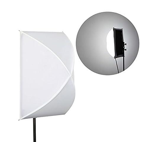 Mekingstudio Rx-12sb pliable Diffuseur de flash Boîte à lumière pour Mekingstudio Ge-34l Flex lumière LED