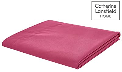 Catherine Lansfield Easy Iron Percale Flat Sheet