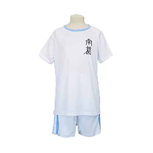 ULLAA Capitaine Tsubasa Cosplay Uniform Stil Fußball Kostüm Jungs Mädchen Männer Erwachsene Trikots Kurze Hose,L