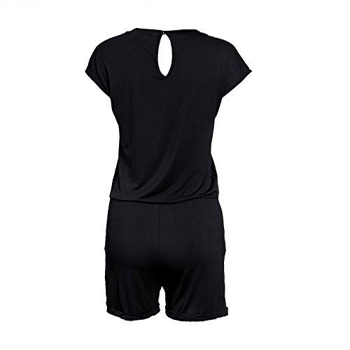 SUNNOW® Elegant Damen Jumpsuit Playsuit Casual - 3
