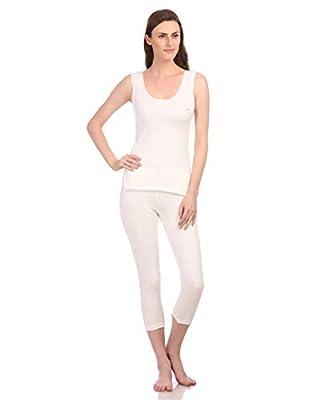 Neva Velveti Woman's Cotton Lower (OVT16W_Off- White_XXX-Large-105 cm.)