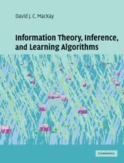 Information Theory, Inference and Learning Algorithms by MacKay, David J. C. (2003) Hardcover