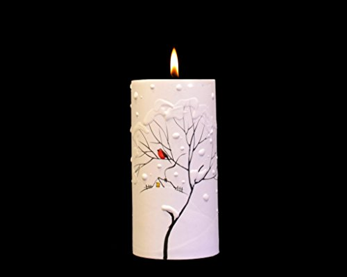 Handmade Decorated Painted Candles