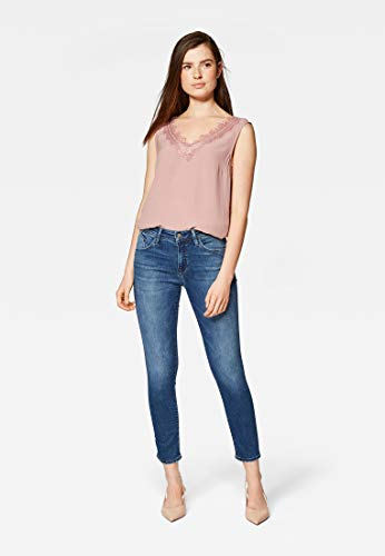 Mavi Damen Jeans Super Skinny Cropped Sophie Ankle deep Brushed Uptown STR 32