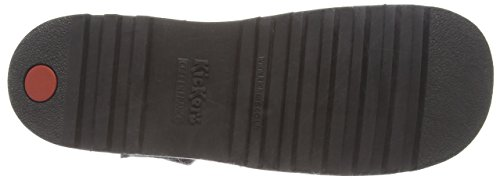 Kickers Kick T Broge Patl Yf, Mary Jane fille Noir - Noir