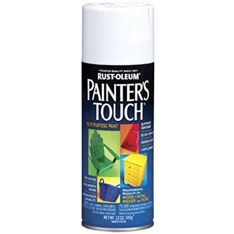 12 Oz Gloss White Spray Paint 1992-830 [Set of 6] by Painter's Touch