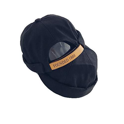 Chinesische Mütze (LZMZ22222 Unschuldige Mütze, Outdoor-Melonenmütze, atmungsaktiver Herrenhut, chinesische Retro-Meistermütze)