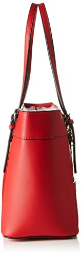 Guess Delaney Small Classic Tote, Sacs à Main Femmes, Taille Unique Rouge (Cny Red)