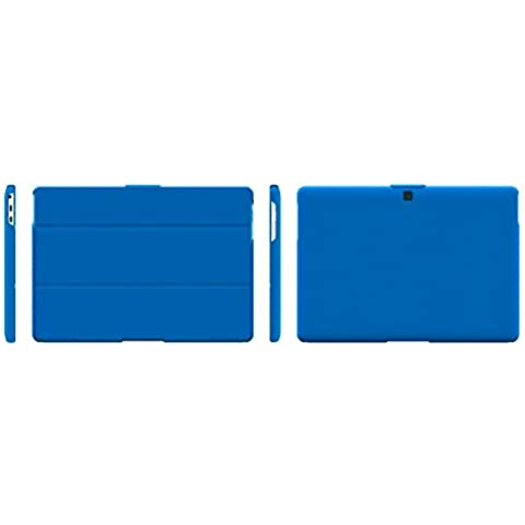 bq Duo Case M10 - Funda para bq Aquaris M10, color azul