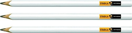 Stabila 16991 Paquete de 3 Lápices de Albañil, Set de 3 Piezas