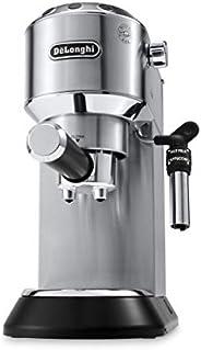 De'Longhi Dedica Style Pump Espresso Machine, Silver - EC685M, UAE Ver