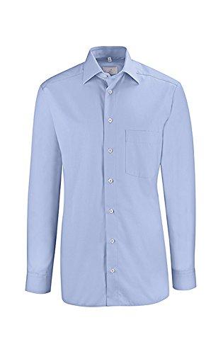 Greiff Herren-Hemd BASIC, Regular Fit, Stretch, easy-care, 6665, mehrere Farben Bleu