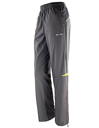 Pantalon Sport Femme Training Team Loisirs Fitness SPIRO Micro Lite Pant Grey/Lime