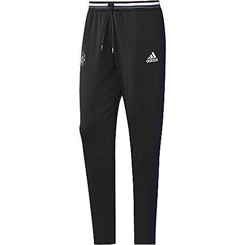 adidas Manchester United Fc Pantalon d'Entraînement Homme, Noir/Collegiate Navy/Chalk White, FR : S (Taille Fabricant : S)