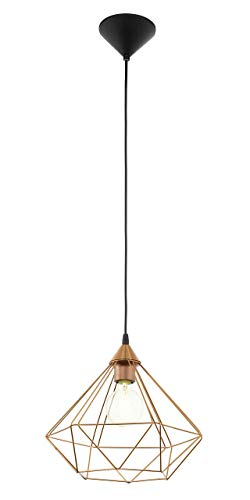 Eglo Lampe Suspension E27 Ø325 'Tarbes'Cuivre