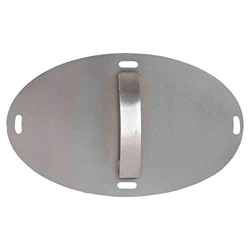 Morsoe Abdeckung Tür für Grill Forno, 37 x 23 cm, silber