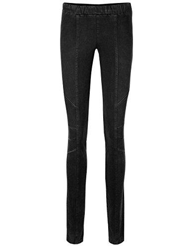 Marc Cain Sports Damen Skinny Jeans Schwarz (Black 900)