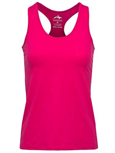 Killer Whale Ärmellose Sporthemden für Damen (Rosa, XL- 40DE) (Tank Rosa-übung)