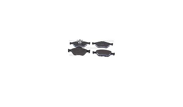 Triscan 8110 16008 Bremsbelagsatz Scheibenbremse 4 Teilig Auto