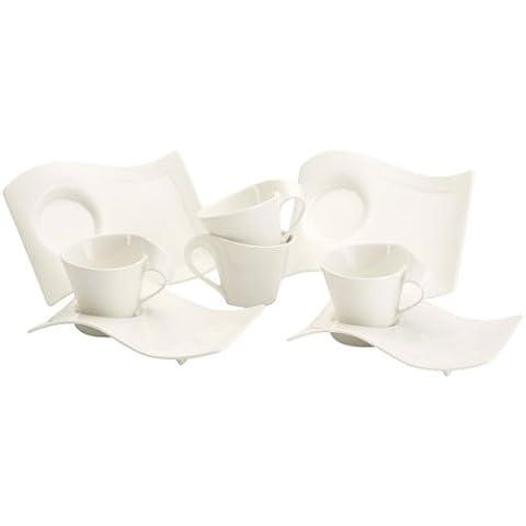 Villeroy & Boch 10-2484-8815 New Wave - Juego de café (8 piezas)
