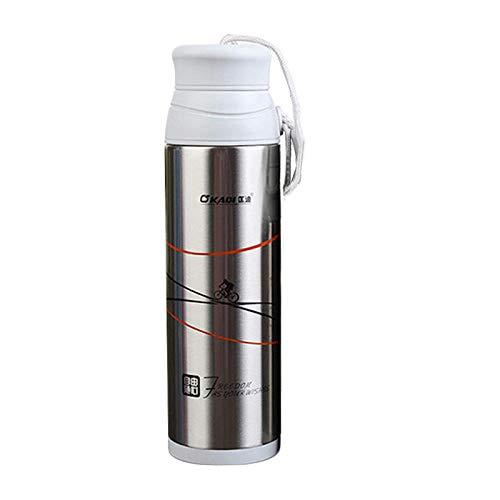 Niiouyt Mode Reisebecher 320 ml Tee Kaffeetasse Wasser Vakuum Isolierbecher Thermoskanne Edelstahl Becher Thermobecher Außengetränkeflasche