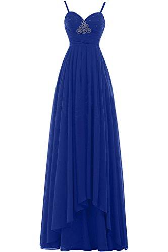 TOSKANA BRAUT -  Vestito  - linea ad a - Donna blu royal