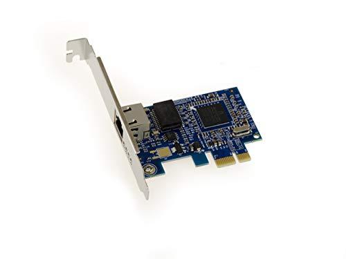 Kalea Informatique Netzwerkkarte PCIe Gigabit Ethernet-Chipsatz Broadcom NetXtreme bcm5751-Funktion PXE/Boot Network Card (Boot Netzwerk)-mit equerres Low und High Profile - Netzwerk-boot