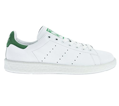Adidas Originals Bb0008 Stan Smith Boost White White Green Bianco