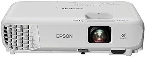 Epson EB-S05 SVGA 3LCD-Projektor (SVGA 800x600p, 3.200 Lumen Weiß- und Farbhelligkeit, 15.000:1 Kontrast, 1x HDMI, Lampenlebensdauer bis zu 10.000 h im Sparmodus)