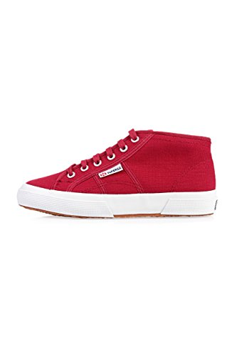 Superga 2754 Cotu, Baskets Basses Mixte Adulte Rouge Foncé