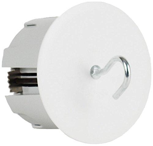 OHMTEC 438220 Boite Plafond DCL Sans Fiche, Gris/Blanc
