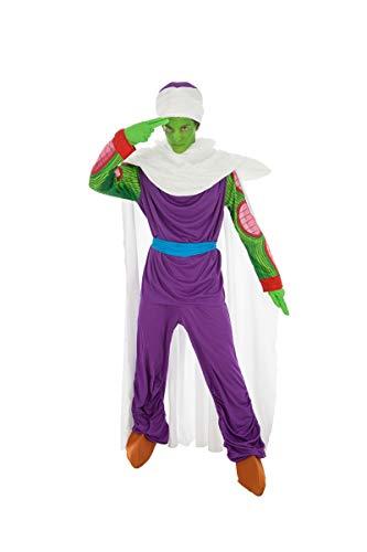 Chaks Piccolo Dragon Ball-Kostüm für Erwachsene bunt L (Dragon Ball Z Cell Kostüm)