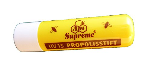 Lippenstift Propolis UV15 Propolisstift Api Supreme 1 Stück | Lippenpflege (Lippenbalsam Honig)