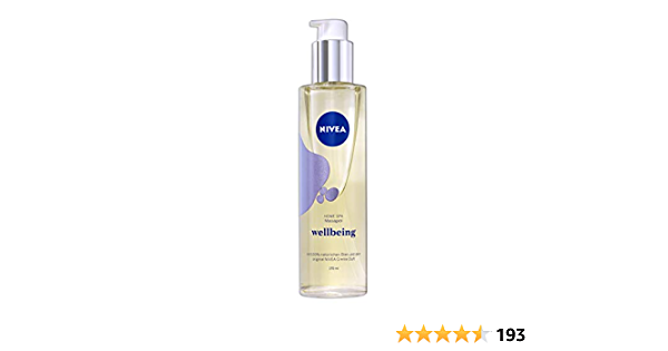 Nivea Home Spa Wellbeing Massage Oil With The Incomparable Scent Of Nivea Cream Practical Dosing Pump Massage Oil Massage Oil 1 X 170 Ml Drogerie Körperpflege