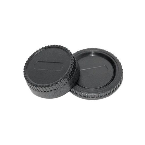 Rear Lens + Camera Body Cap Cover for NIKON D40, D40x, D50, D60, D70, D70s, D80, D90, D100, D200, D300, D300s, D700, D3000, D3100, D5000 etc etc