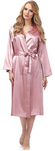 Merry Style Bata Ropa de Casa Lenceria Mujer MSFX798 Rose, XL