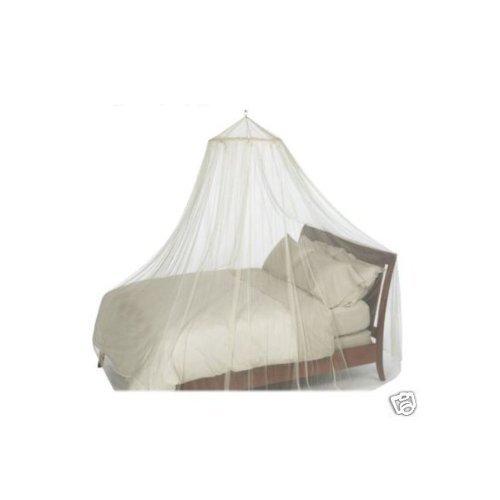 Weißes Moskitonetz für Einzelbett - ohne Hautreizung