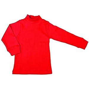 BabyVip - Body Polo Cuello Alto para niño y niña, Estilo básico, 100% algodón, Jersey algodón 10