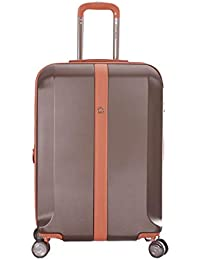 DELSEY Promenade Choclate Brown Latest 2019 HARDSIDED 4W Polycarbonate Trolley Luggage