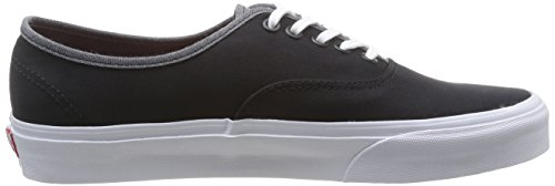 Vans U Authentic , Baskets mode mixte adulte Noir (Black)